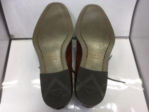 リーガル靴底補強前