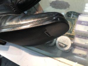 ポール・スチュワートの靴底修理後2