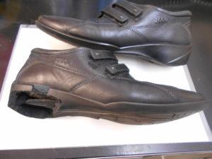 エコー靴底交換前