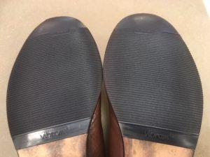 カンペール靴底修理後