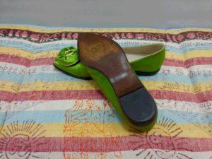 ブルーノ・マリ靴底補強前